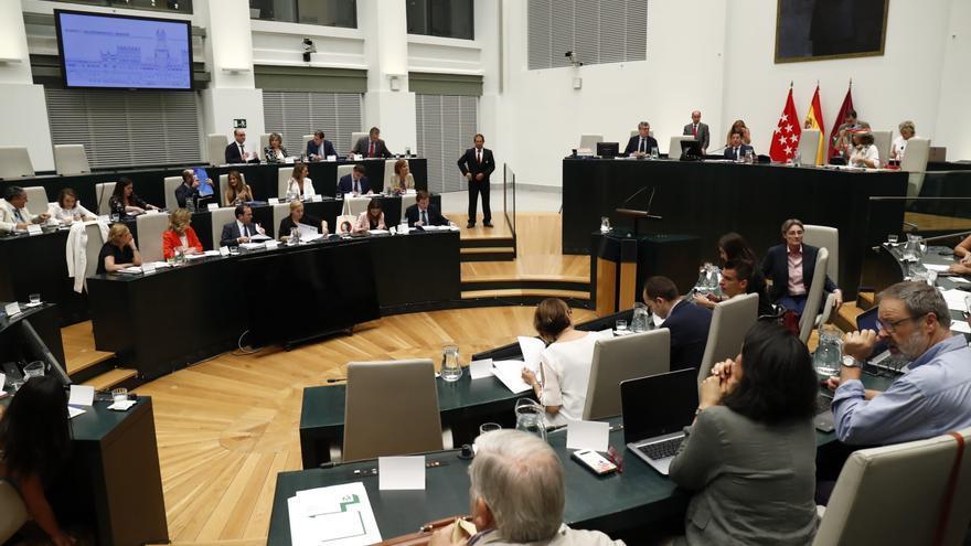 Pleno del Ayuntamiento de Madrid durante las sesiones de julio. / Europa Press