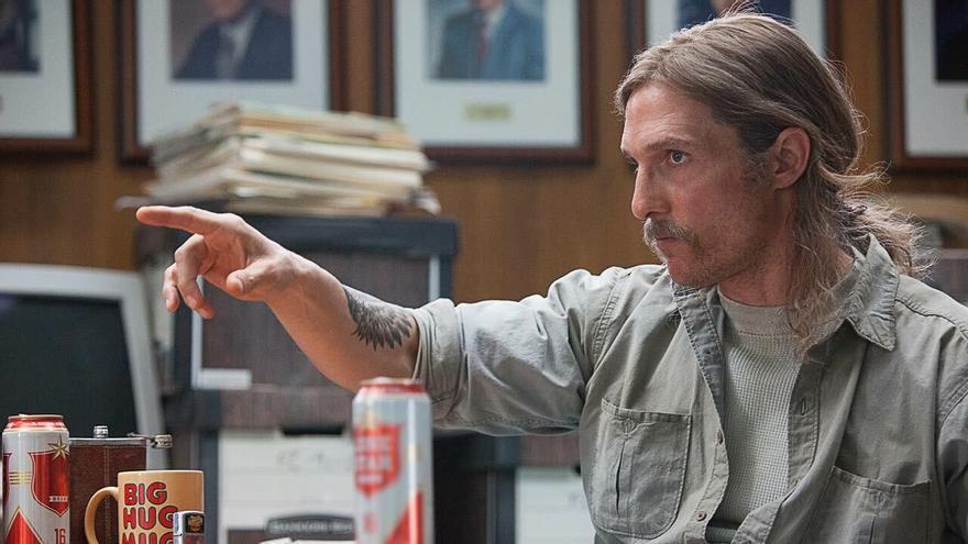 Matthew McConaughey en una escena de 'True Detective'