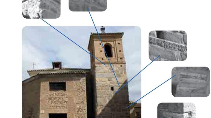 La Iglesia de El Salvador, en Toledo, conserva numerosas piezas visigodas