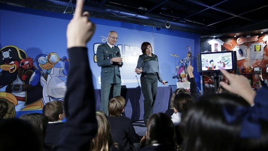 La Guardia Civil impartió 5.300 charlas para avisar a los menores de los riesgos de Internet