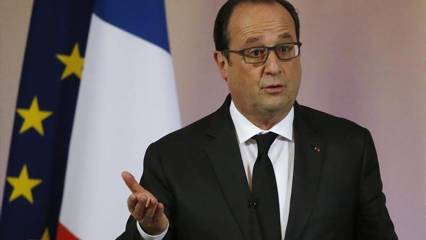 """Hollande: """"Vamos a escoger los objetivos que hagan el mayor daño al EI"""""""