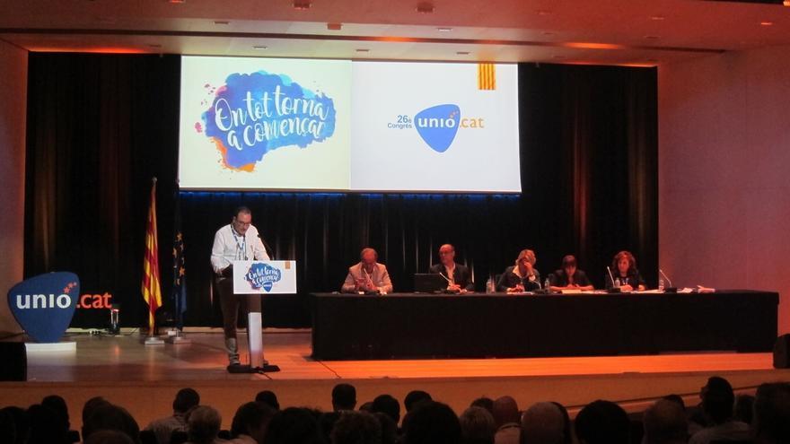 Unió defiende una consulta pactada y apoya los actos institucionales de la jornada