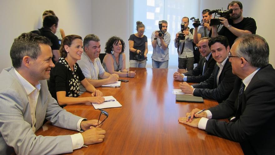María Chivite dice que Uxue Barkos ya tiene los apoyos para formar Gobierno y descarta que el PSN participe