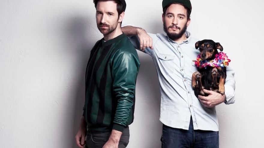 Imagen de David Velduque y Víctor Towfon, creadores de 'Hipsteria', la nueva webserie de MTV.