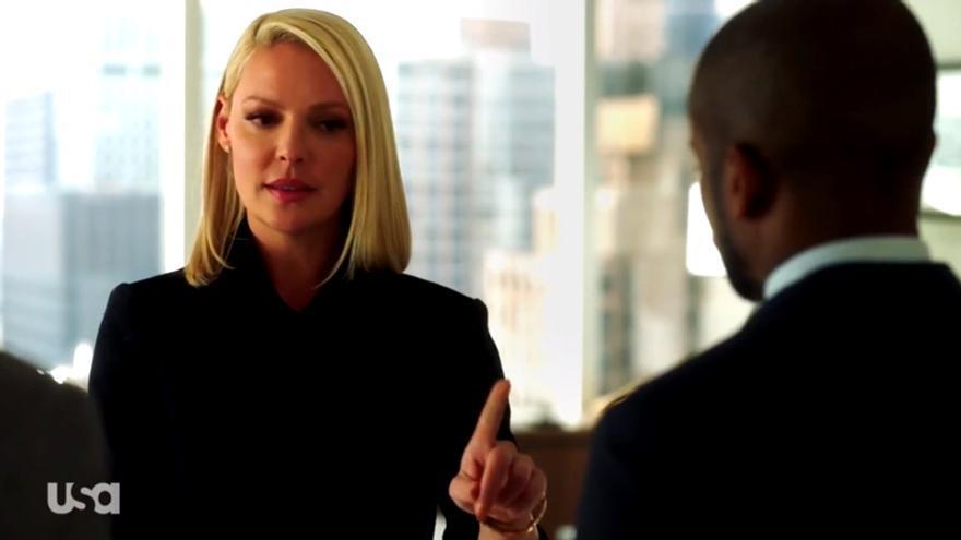 Katherine Heigl, fichaje estrella de Suits, en el nuevo póster promocional de la 8 temporada