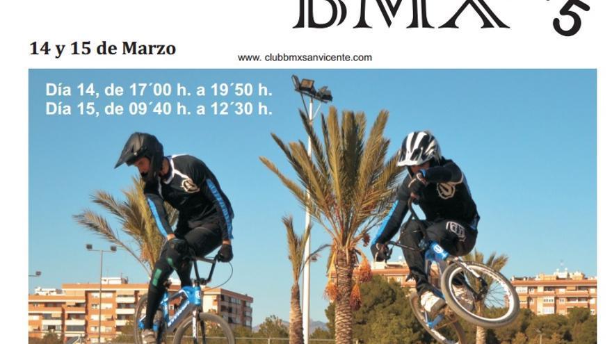 Cartel de la XIX Copa de España BMX.