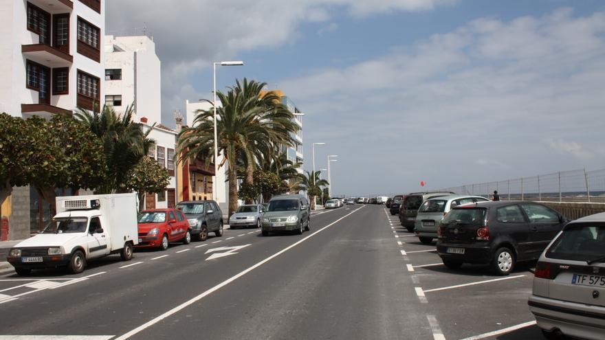 En la imagen, tramo norte de la Avenida Marítima.