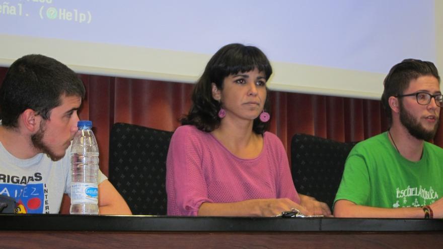 """Rodríguez defendió criterios """"territoriales"""" para elegir los cabezas de lista de Podemos al Congreso"""