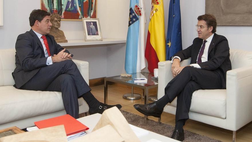 La corrupción y la crisis, principales ejes de la segunda reunión de Feijóo y Besteiro