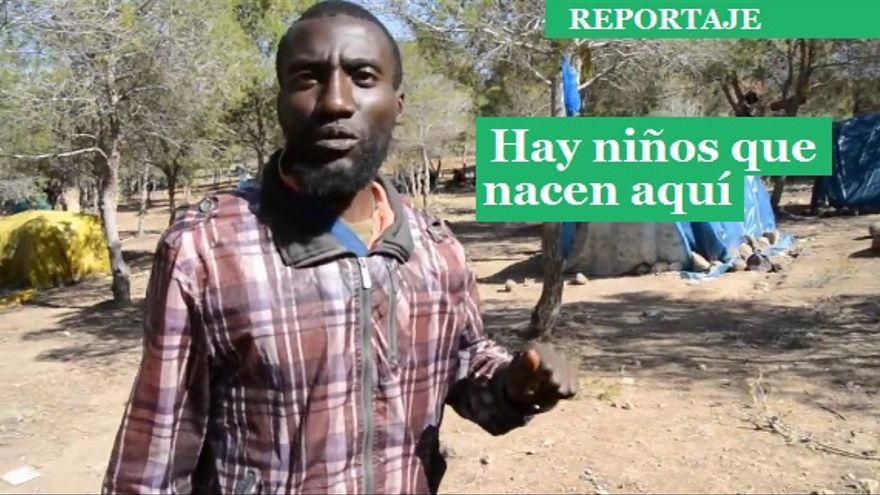 Cartón para reportaje sobre Nador