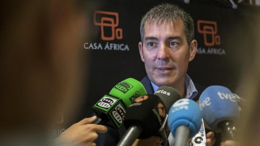 El presidente de Canarias, Fernando Clavijo. (Efe/Ángel Medina G.).