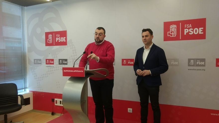 """Barbón (FSA) sobre el nuevo reglamento del PSOE: """"Yo creo en un partido, no en 17"""""""