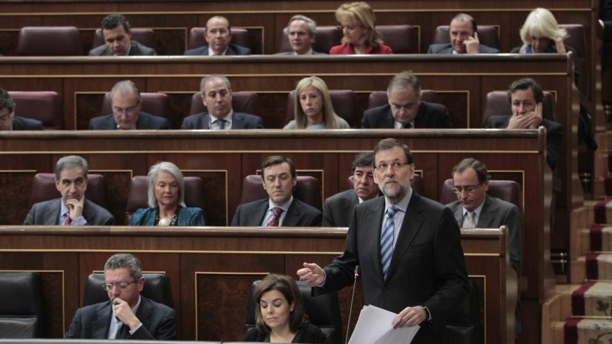 """Rajoy sobre el rescate: """"A veces la mejor decisión es no tomar ninguna decisión y eso es también una decisión"""""""