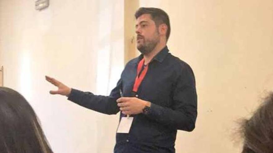 Alejandro Díaz, exdirigente de Joves Socialistes de Elche