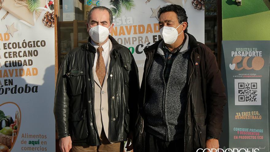Presentación de la campaña de la Asociación de Comerciantes de Productos Ecológicos EcoCórdoba   JUAN HUERTAS