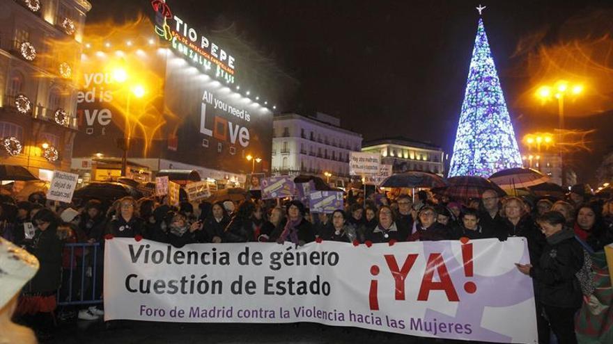 Miles de personas claman contra la violencia machista en España