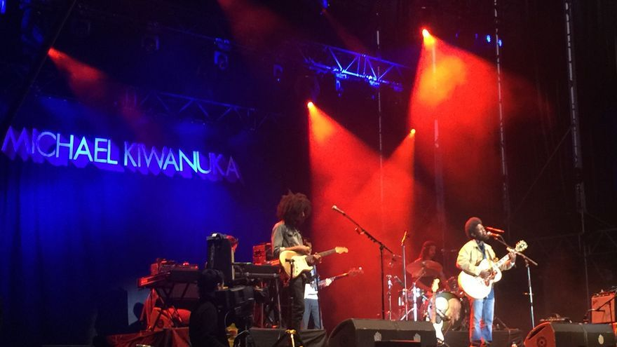 Michael Kiwanuka, en el Azkena Rock Festival.