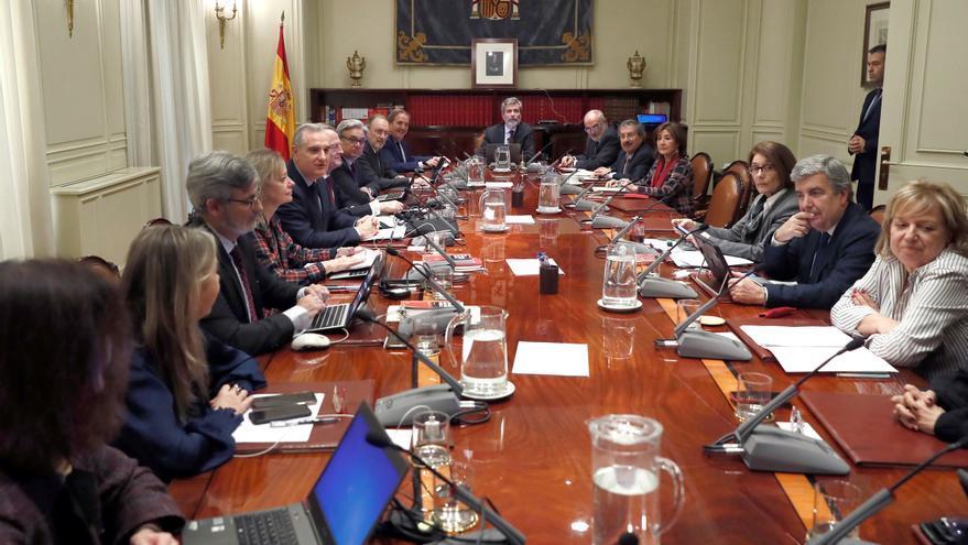 El pleno del Consejo General del Poder Judicial.