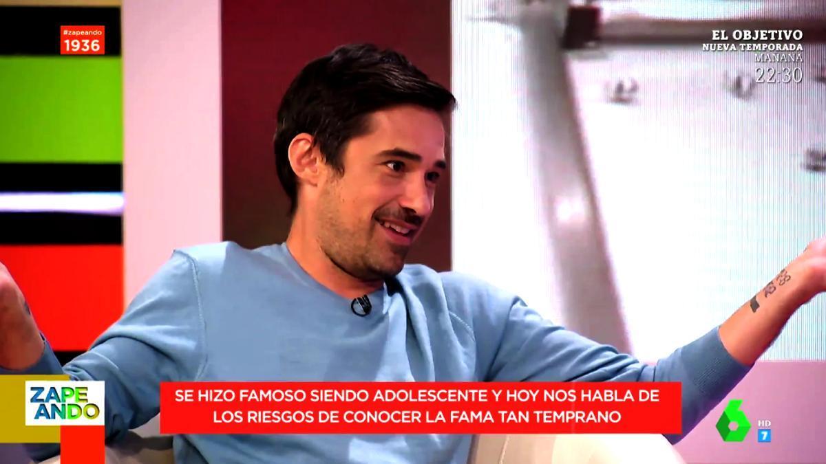 Jordi Cruz en 'Zapeando'
