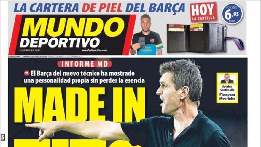 De las portadas del día (25/08/2012) #14