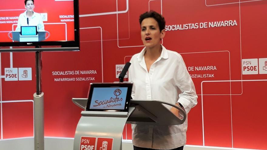 """Chivite (PSN) critica a quienes """"utilizan Navarra como herramienta para sus intereses políticos"""""""