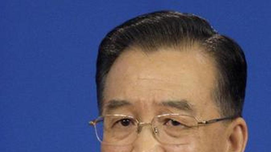 Primer ministro chino wen jiabao