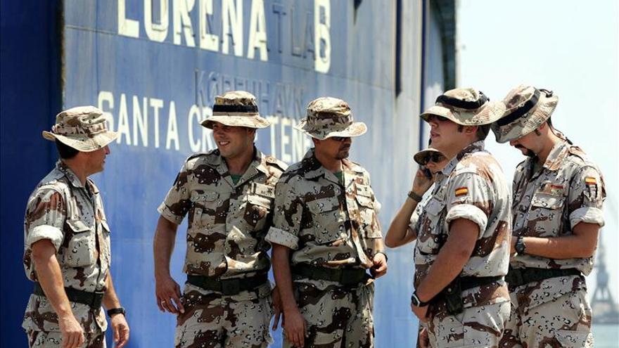 Una treintena de militares portugueses se suma a la misión española en Irak