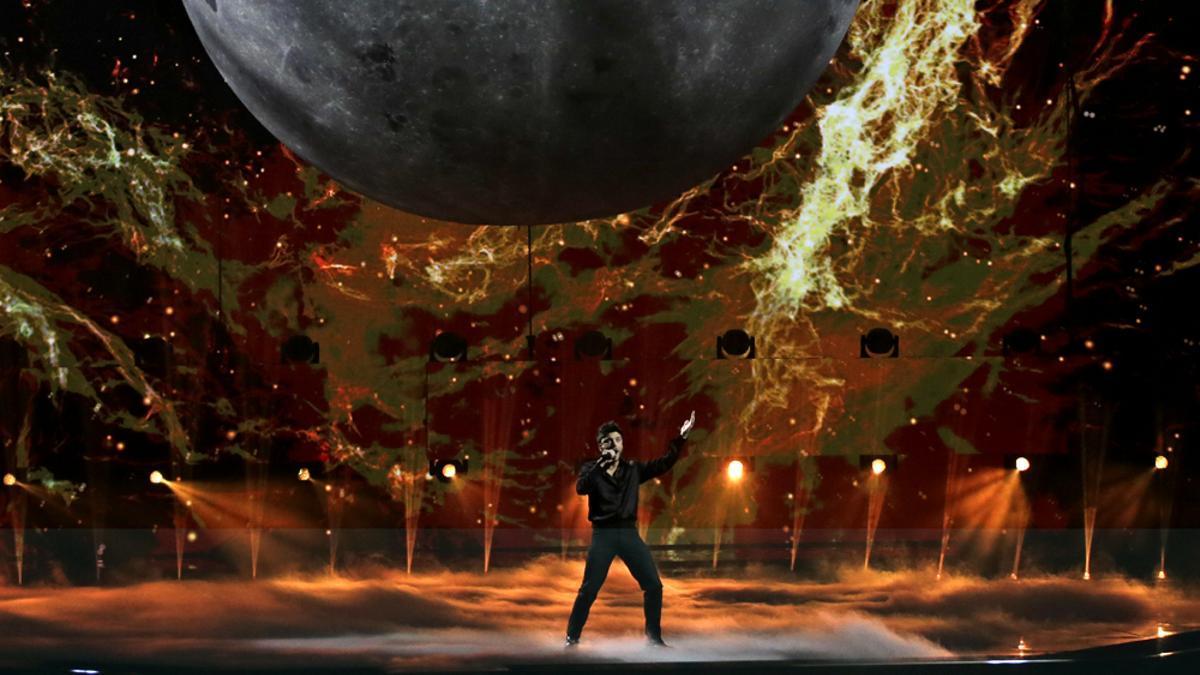 Blas Cantó en Eurovisión 2021