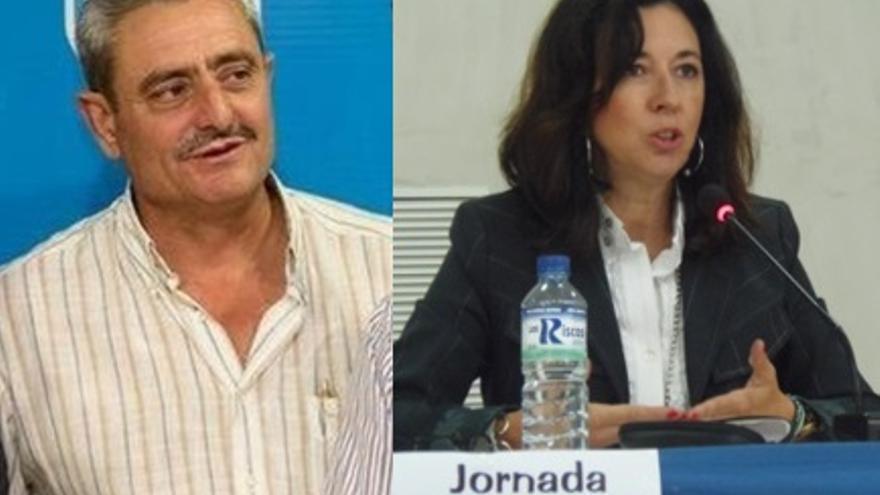 Bibiano Serrano y Mercedes Morán
