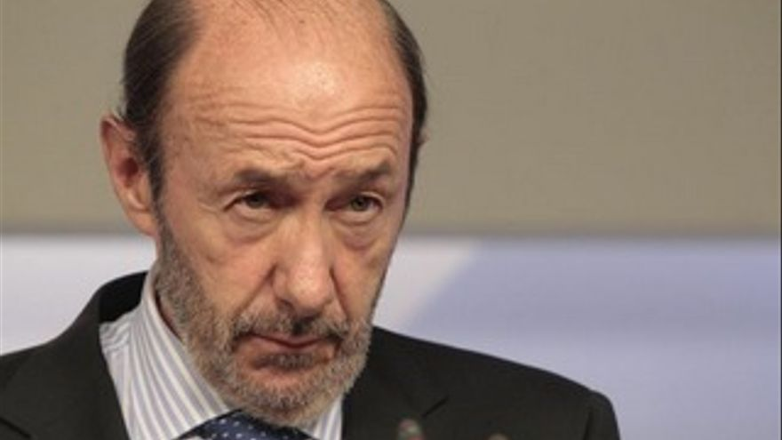 Alfredo Pérez Rubalcaba, secretario general del PSOE. (EUROPA PRESS)