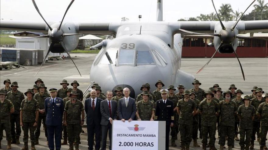 Morenés revela que aviones españoles transportan el 30% del material francés en África