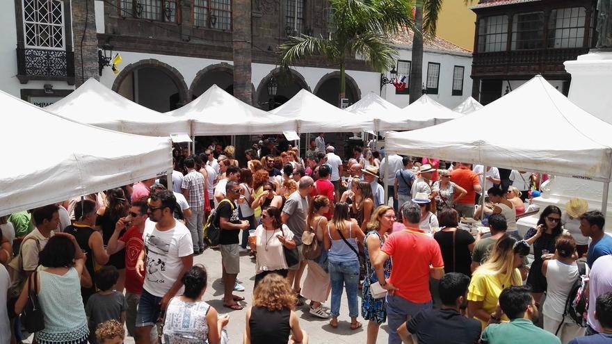 Segunda edición de la Feria de la Garimba, el sábado, en la plaza de España de Santa Cruz de La Palma.