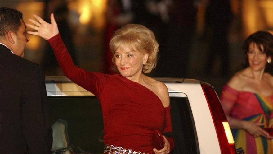 Barbara Walters anuncia su retirada en 2014 tras medio siglo en la TV de EE.UU.
