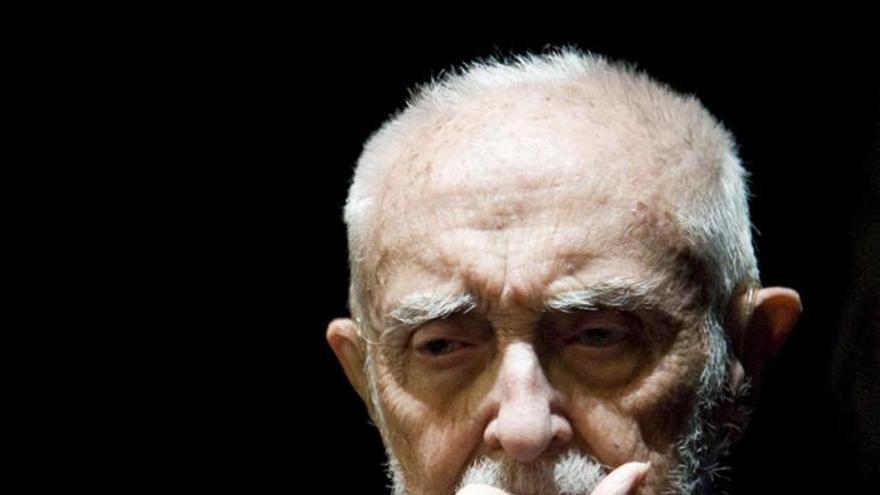 El economista y escritor José Luis Sampedro. / Efe
