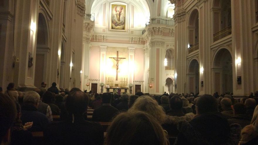 La misa en honor a Franco en la iglesia madrileña de San Francisco de Borja
