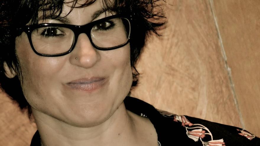 La poeta Ana Pérez Cañamares.