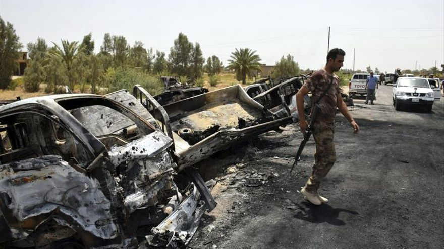 Bombas, milicias y falta de servicios frenan el retorno de los desplazados a Faluya