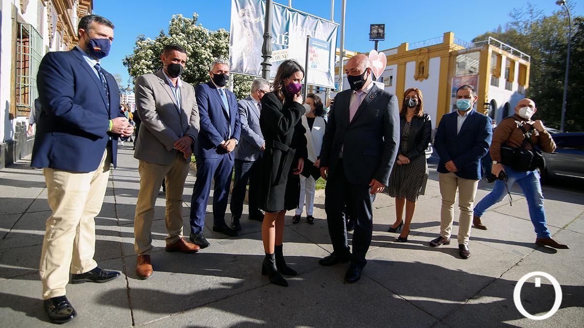 La ministra de Igualdad, Irene Montero, visita la Diputación de Córdoba.