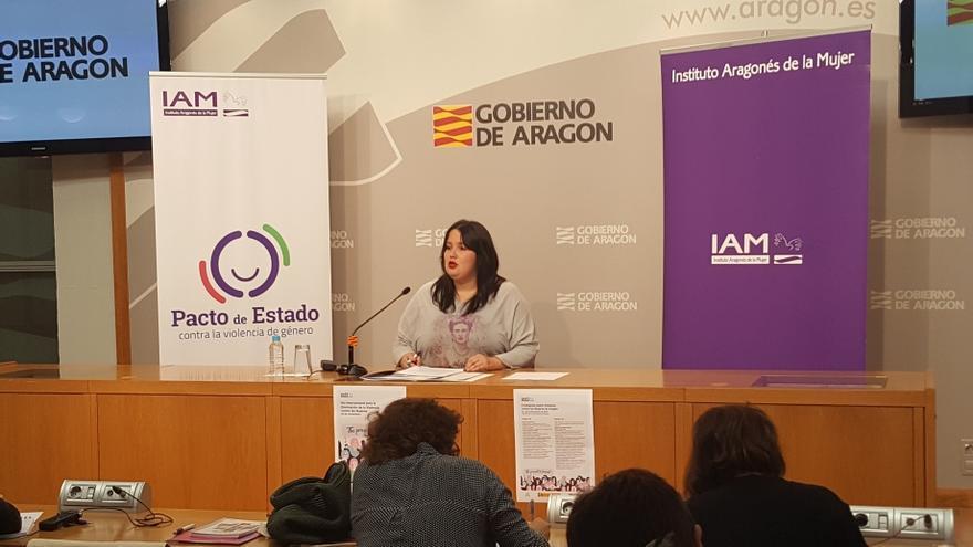 La directora del Instituto Aragonés de la Mujer, Natalia Salvo
