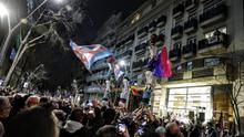 Cientos de personas se concentran contra el ataque al centro LGTBI de Barcelona