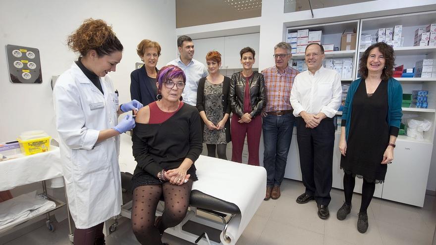 Cerca de 92.000 personas se vacunan frente a la gripe en Navarra en el primer mes de campaña