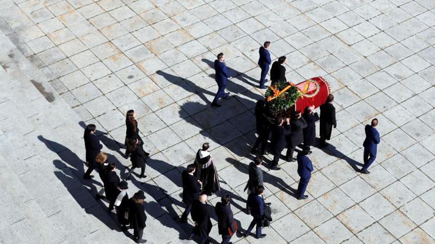 El primer 20N sin Franco en el Valle de los Caídos