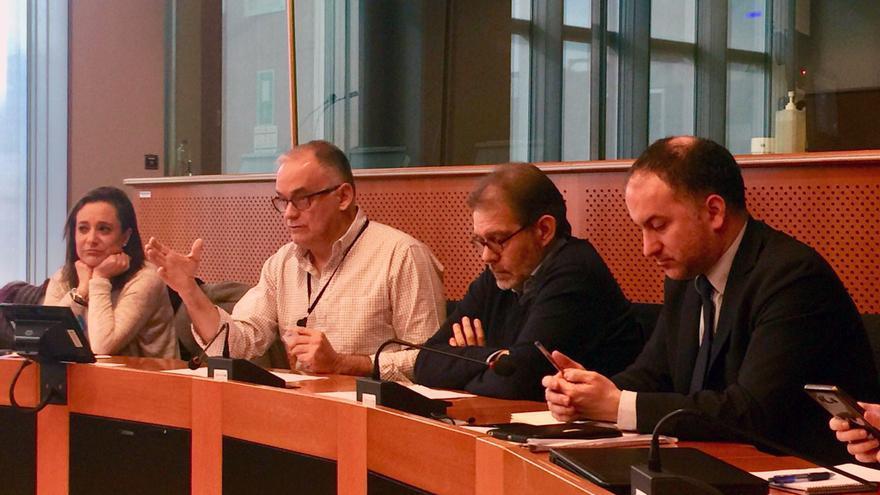 El europarlamentario del PP Esteban González Pons en Bruselas