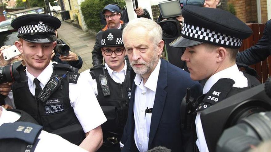 """Corbyn defiende la """"visión internacionalista"""" de su partido pese al """"brexit"""""""