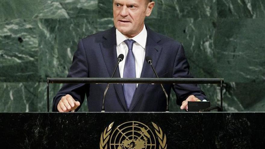Donald Tusk pide en la ONU valentía en la lucha contra las amenazas mundiales