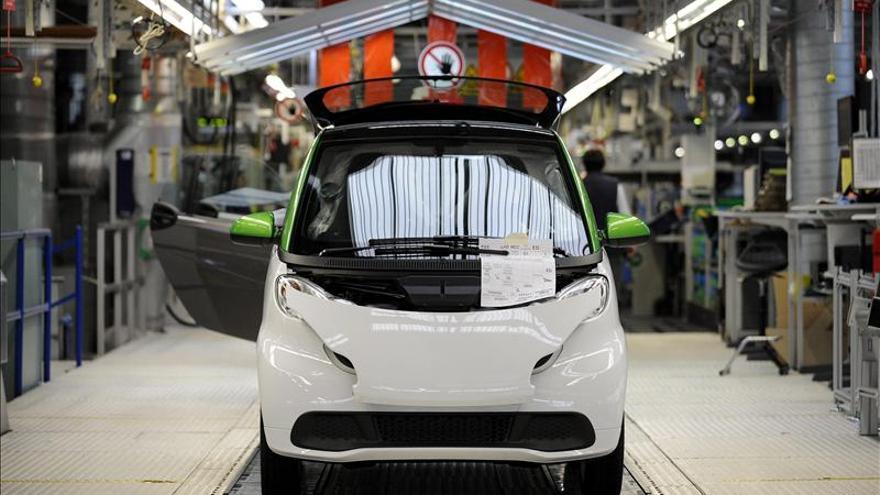 La producción industrial francesa retrocedió un 0,9 por ciento en marzo