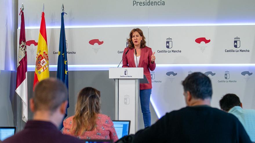 La portavoz del Gobierno regional, Blanca Fernández, ha anunciado los reconocimientos