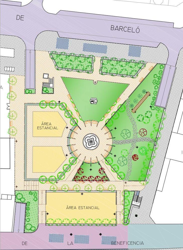 Proyecto a licitación de los Jardines del Arquitecto Ribera