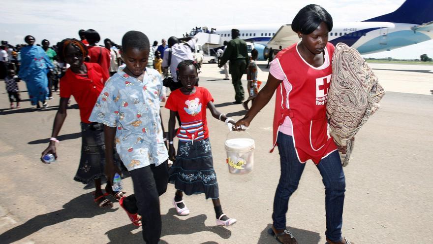 CICR preocupado por los refugiados en Sudán del Sur ante la falta de agua
