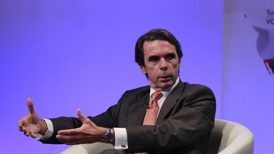 Aznar no prevé participar en la campaña electoral de las generales